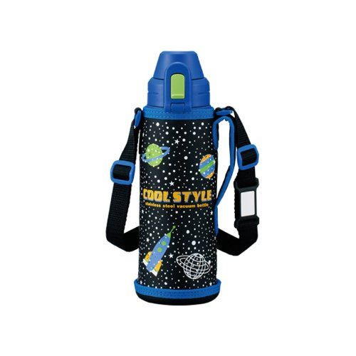Zojirushi Stainless Steel Cool Bottle with Pouch 0.52l Cosmic Blue (sd-ak05-ac) by