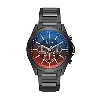 Armani Exchange Analog Black Dial Men's Watch – AX2615