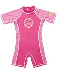 Surfit Girls Pink/Ice shorty sunsuit UV50+
