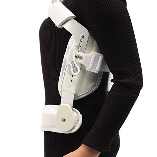 LLDY Lumbale Wirbelsäule-Orthese, Justierbare Zervikale Brust-Orthese-Lumbale Brust-Orthese-Lumbale Stützkragen-Vertebra-Hals-Klammer-Stütz-Justierbarer Traktions-Gurt,Grau,XL -