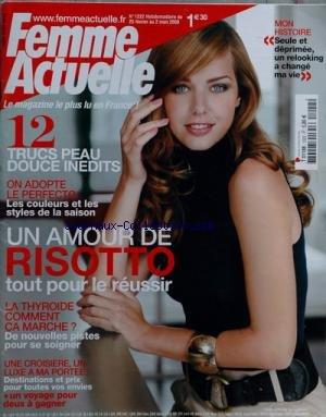 FEMME ACTUELLE [No 1222] du 25/02/2008