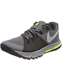 Nike Damen Wmns Air Zoom Wildhorse 4 Laufschuhe Black/Volt