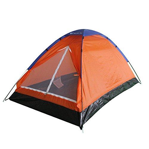 Travelpal Nevio 2 Pop Up Zelt 60 Sekunden Zelt Quick Tent Top Qualität Schnell aufzubauen Ideal für 1-2 Personen zum Campen oder ideal fürs Festival mit Moskitoschutz