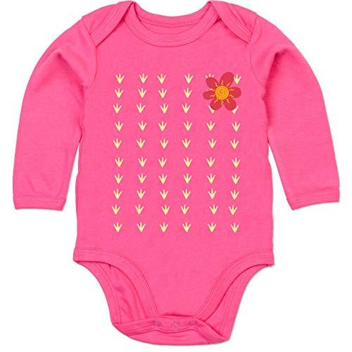Shirtracer Karneval und Fasching Baby - Kaktus Karneval Kostüm - 3-6 Monate - Fuchsia - BZ30 - Baby Body - Baby Kaktus Kostüm