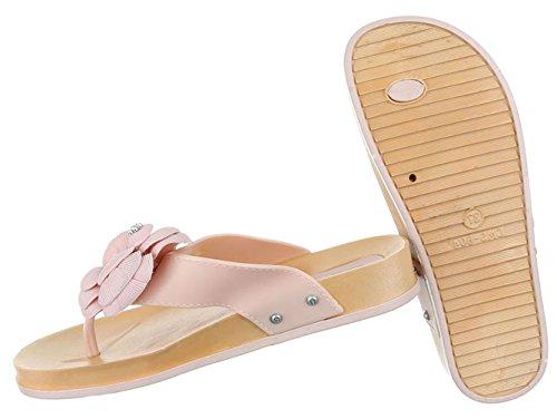 Damen Schuhe Sandalen Zehentrenner Zehensandale Sommerschuhe Strandschuhe Weiß 36 Vvzn1Ke