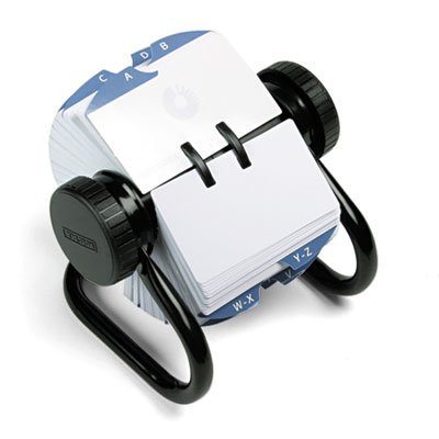 open-rotary-card-file-holds-500-2-1-4-x-4-cards-black-by-rolodex
