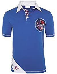 T186 - NEBULUS POLO-SHIRT SAILOR, Polo, T-Shirt, Hemd