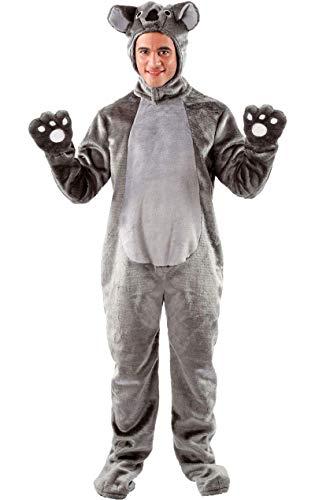 Dschungel Einfach Party Kostüm - Erwachsene Damen Herren Tier Zoo Koala Dschungel Verkleidung Kostüm Standard