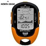 Tellaboull for Ricevitore di Navigazione GPS Tracker GPS Nord Edge USB Ricaricabile con Bussola Elettronica per Viaggi all'aperto