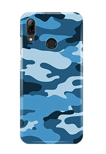 Case Me Up Handy Hülle für Huawei P SMART 2019 Camo Camouflage Army Green Brown Blue Pink 9 Designs Handy-camouflage-design