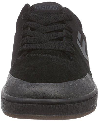 Etnies Marana, Unisex-Kinder Skateboardschuhe Black (Black/Black003)