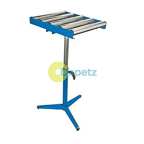 Daptez ® 5-Roller Stand 590 - 975mm Heavy Duty Rollers For Handling Sheet Material