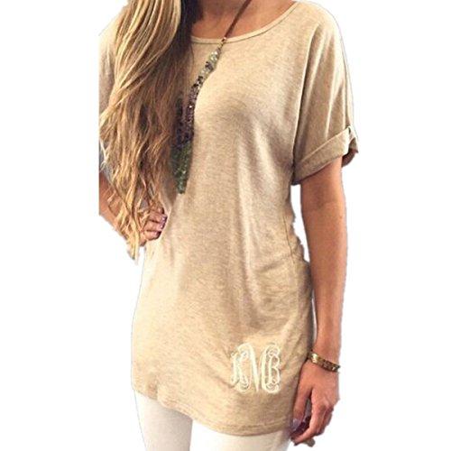 Ramonala Top Femme Chic Blouse Tunique Débardeur Femme Tee Shirt Manches Longues Blousen Top Femme Chic Tee Shirts Lacets Oberteil OL Kaki
