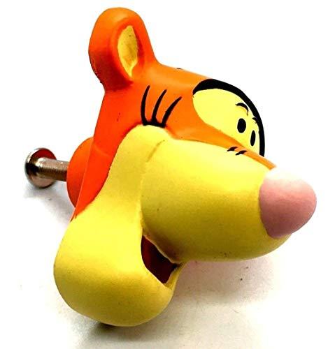 1x Tigrou le Tigre 43mm Disney chambre chambre Bouton Armoire Placard.
