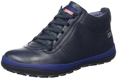 Camper Damen Peu Pista Stiefel, Blau (Dark Blue), 39 EU (Camper Stiefel Schuhe)