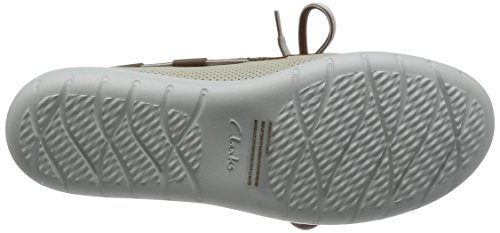 Clarks Damen Jocolin Vista Bootsschuhe White & Beige