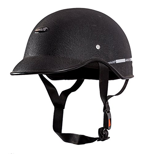 Autofy Habsolite All Purpose Safety Helmet with Strap (Black, Free Size)