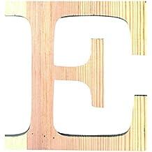 Letra de madera grande E ref 14001111