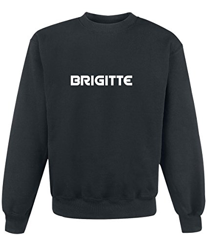 Felpa Brigitte - Print Your Name Black