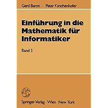 Einführung in die Mathematik für Informatiker: Band 3