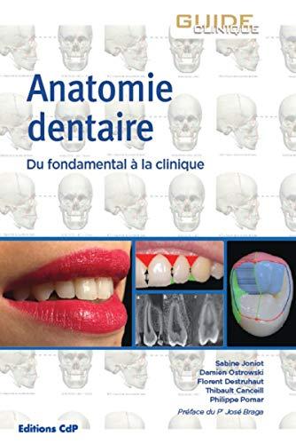 Anatomie dentaire: Du fondamental à la clinique. Préface du Pr José Braga