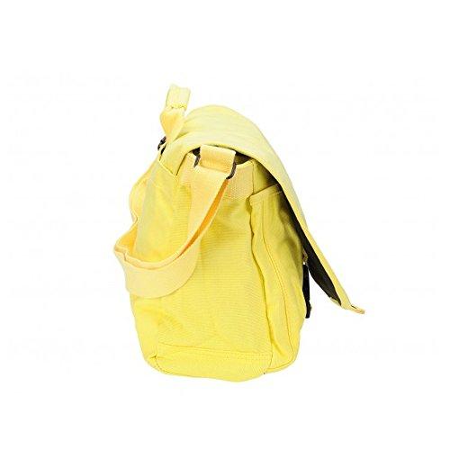 Converse Borsa Messenger, Vintage Patch Canvas, giallo  giallo, 98306A-90 giallo