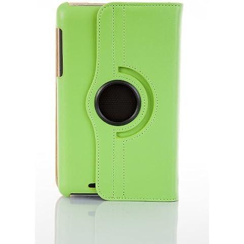 JAMMYLIZARD | Funda De Piel Giratoria 360 Grados Para Nexus 7 2012 (1ª Gen.) Smart Case, VERDE