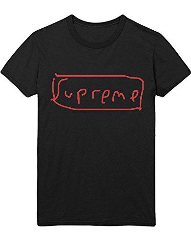 T-Shirt Supreme Paint H100022 Schwarz