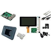 Raspberry Pi - Kit de iniciación 3 lcd + wifi + softw raspbian