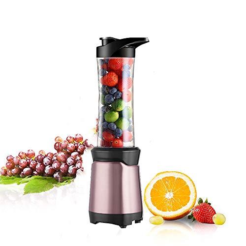 CAROL Mini Standmixer Blender Smoothie Maker Mixer mit 600ML Trinkflasche Mixer für Smoothies und Milchshakes - Watt Personal Blender-300