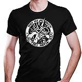DragonHive Herren T-Shirt League of Legends Rammus They See Me Rollin They Hatin, Größe:L, Farbe:Schwarz