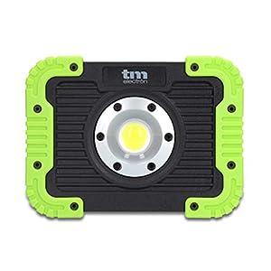 TM Electron TMTOR021 luz de Trabajo COB LED portátil súper Brillante de 10W y 450LM