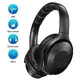 Mpow H17 Auriculares Diadema Bluetooth con Cancelación de Ruido (Carga Rápida,...