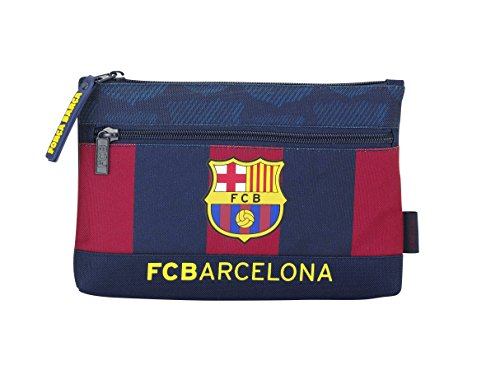 F.C. Barcelona – Portatodo Doble, 23 x 16 x 3 cm (SAFTA 811525033)