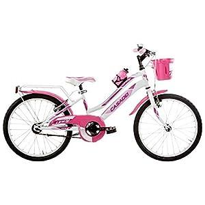 "41NzQnEr6oL. SS300 Bicicletta MTB LY20SC per Bambina, 20"" Acciaio Senza Cambio, 1V, Bimba Bike"