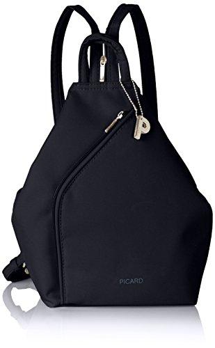 Picard Damen TIPTOP Rucksackhandtaschen, Schwarz (Ozean), 20x33x11 cm