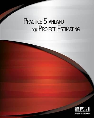 Practice Standard for Project Estimating por Project Management Institute