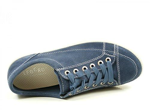 Legero Damen Tanaro Sneaker, Jeansblau