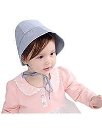 Chapeau Bébé Fille Été en Coton Bonnet Garçons Chapeau de Pêche Soleil  Visière Plage Voyage Nouveau 0e3f3a4614f