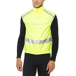 Ultrasport Uni Sicherheits, Lauf, Reflektorenweste Motorrad Reitweste, Leuchtweste, Mesheinsätze zur Luftzirkulation, reflektierendem 3M Scotchlite-Material