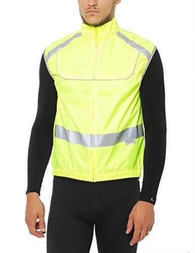 Ultrasport Sicherheits-Weste reflektierend, Neongelb, 2XL