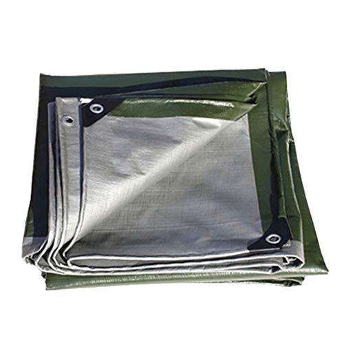 Outdo Wasserdichte PE Tarps Heavy Duty Persenning - UV-beständig, Anti-Korrosions-, reißfest, Thick wasserdicht, 180 g/m² (Size : 5Mx8M)