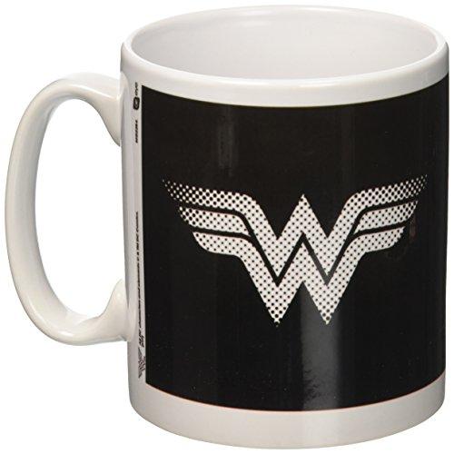 GB Eye LTD, DC Comics, Wonder Woman Monotone Logo, Taza