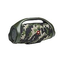 JBL Boombox 2 Squad Speaker Bluetooth Portatile Wireless - Cassa Altoparlante Waterproof IPX7, JBL PartyBoost, fino a 24h di Autonomia, Mimetico