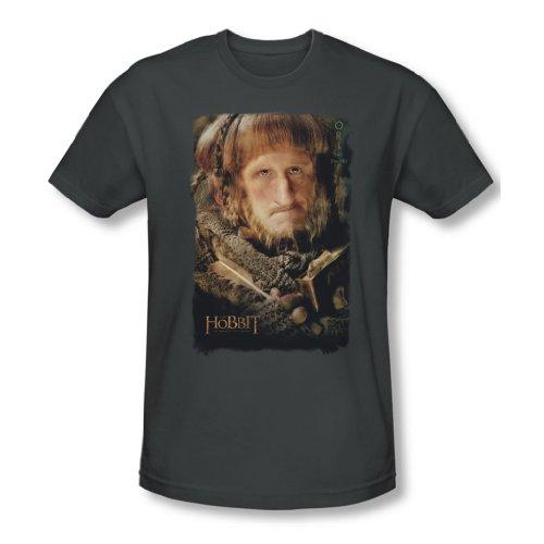 The Hobbit - Herren Ori T-Shirt in der Holzkohle, XX-Large, Charcoal