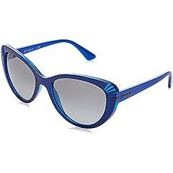 Vogue Eyewear 0Vo5050S, Top Blue Trasp/Glitter, 54 para Mujer