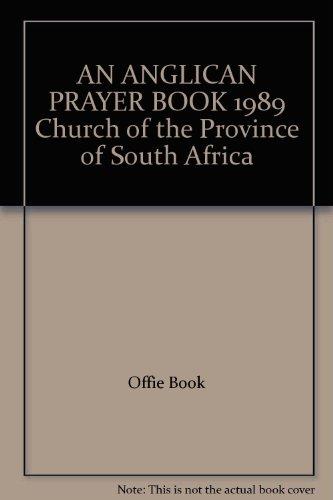 An Anglican Prayer Book 1989 par Anon