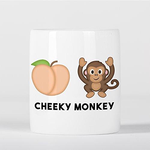 Cheeky Monkey Emoji Hucha