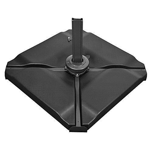 Nova Support de Parapluie pour extérieur de Jardin en Forme de Cantilever Noir