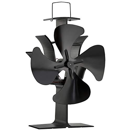 Zennox Ventilador Estufa 4 aspas Accionada Calor Respetuoso